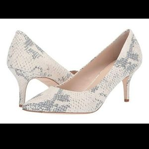 COLE HAAN VESTA PUMP SNAKE PRINT LEATHER SIZE 6